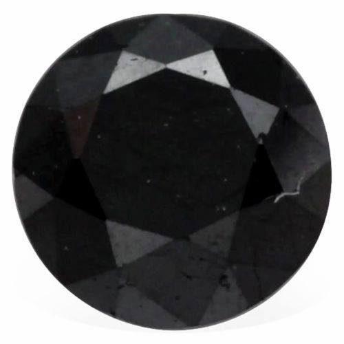 יהלום שחור מלוטש לשיבוץ 0.76 קרט