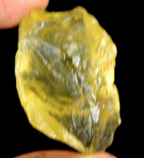 טופז צהוב גלם (ברזיל) לליטוש 135 קרט