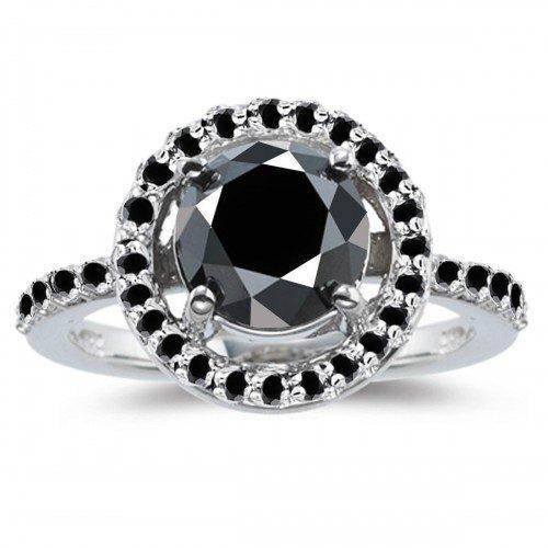 טבעת כסף 925 בשיבוץ אבני מואסנייט הטבעת: 3.57 קרט מידה 7