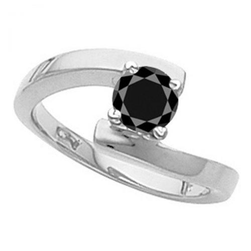טבעת כסף 925 בשיבוץ מואסנייט 2.5 קרט מידה: 7