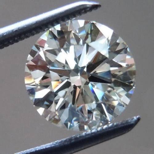 יהלום לבן עגול Natural diamond אפריקה - תעודה משקל: 0.052 קרט ניקיון: SI3 - I1