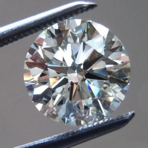 יהלום לבן Natural diamond אפריקה - תעודה משקל: 0.52 קרט ניקיון: SI1-SI2