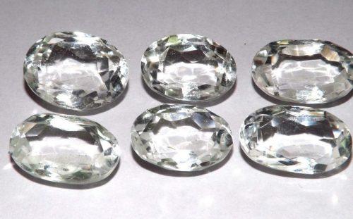 קוורץ קריסטל Quartz-crystalמשקל: 38.10 קרט 6 יחידות
