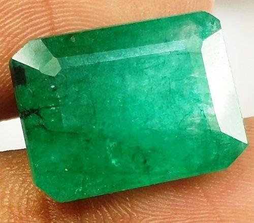 אמרלד איזמרגד ברקת Emerald מלוטש לשיבוץ קולומביה + תעודה במשקל: 11.18 קרט