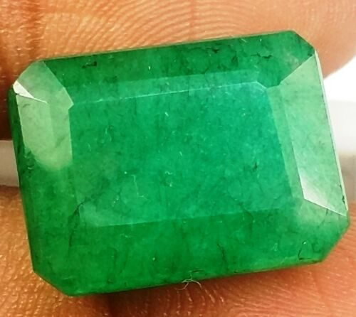 אמרלד איזמרגד ברקת Emerald מלוטש לשיבוץ קולומביה + תעודה משקל: 13.84 קרט
