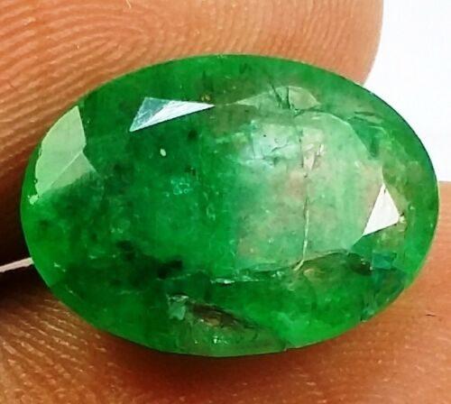 אמרלד איזמרגד ברקת Emerald מלוטש לשיבוץ קולומביה + תעודה במשקל: 5.39 קרט