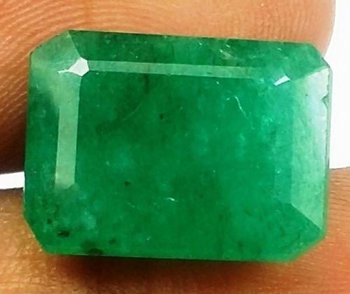 אמרלד איזמרגד ברקת Emerald מלוטש לשיבוץ קולומביה + תעודה משקל: 8.09 קרט