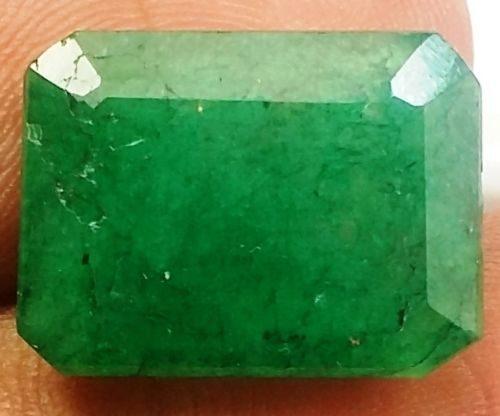 אמרלד איזמרגד ברקת Emerald מלוטש לשיבוץ קולומביה + תעודה משקל: 8.54 קרט