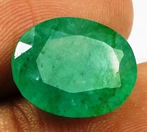 אמרלד איזמרגד, ברקת Emerald מלוטש לשיבוץ קולומביה + תעודה משקל: 5.98 קרט