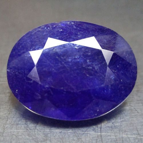 ספיר כחול Sapphire מלוטש לשיבוץ אפריקה במשקל: 2.74 קרט