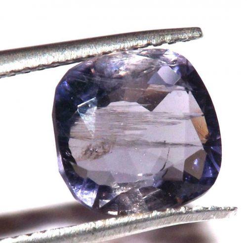 """איולייט iolite היילייטר מלוטש לשיבוץ במשקל: 3.10 קרט מידה: 5*9*9 מ""""מ"""