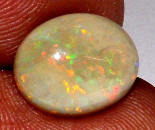אופל אש Opal מולטי קולור מלוטש לשיבוץ - אתיופיה משקל: 2.90 קרט
