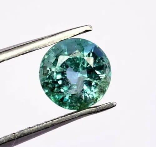 אמרלד איזמרגד, ברקת Emerald זמביה תעודה משקל: 0.72 קרט