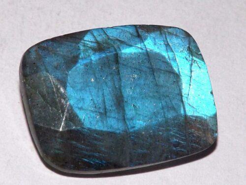 לברדורייט Labradorite מלוטש לשיבוץ אפריקה משקל: 11.35 קרט