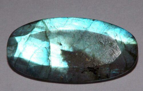 לברדורייט Labradorite מלוטש לשיבוץ - אפריקה במשקל: 19.35 קרט